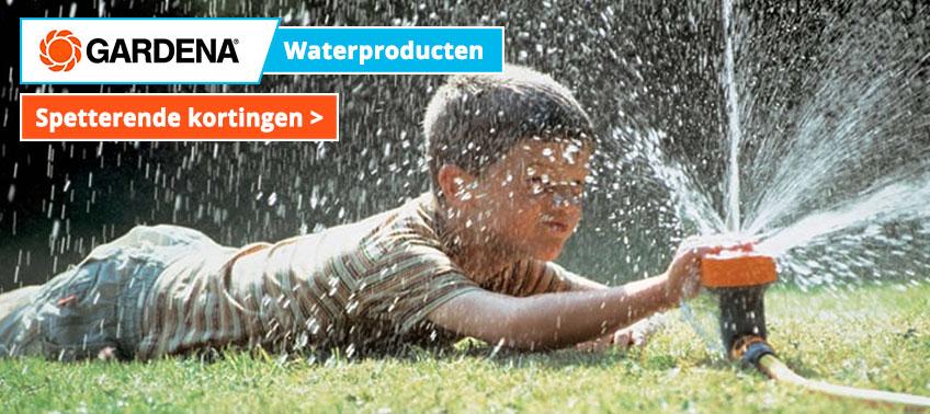 Gardena Waterproducten met spetterende kortingen