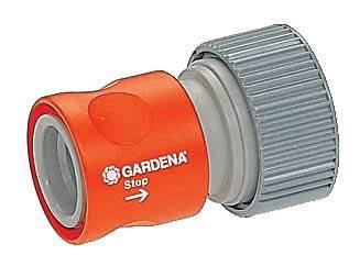 Gardena profi-system overgangsstuk met waterstop