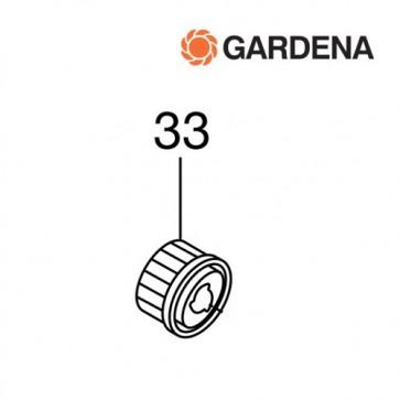 Gardena ritzel links voor kooimesmaaier 380c