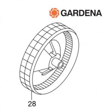 Gardena wiel voor kooimesmaaier 380c