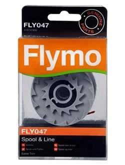 Flymo enkele auto draadspoel. FLY047