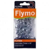 Flymo metalen veren voor Lawnrake compact 3400. FLY058