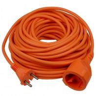Verlengkabel 20 meter, Oranje