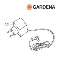 Gardena oplader t.b.v. 8800, 8802, 8810, 8816, 8818, 8820