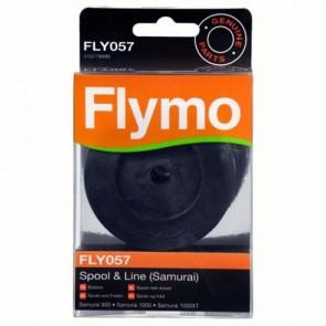 Flymo dubbele draadspoel. FLY057