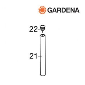Gardena pin voorGardena roll-up 15m wandhouder