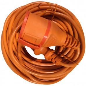 Kopp Verlengsnoer 20 meter oranje
