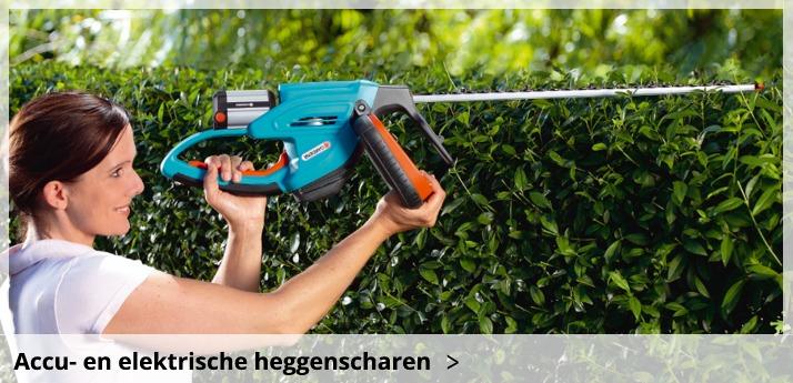 Gardena accu & elektrische heggenscharen