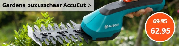 Gardena buxusschaar accucut 9851-20