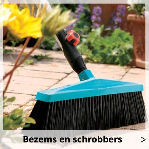 Gardena Bezems en schrobbers