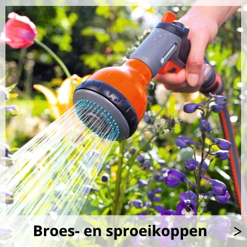 Gardena Broes- en sproeikoppen