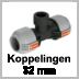Gardena Sprinkler-System koppelingen 32 mm